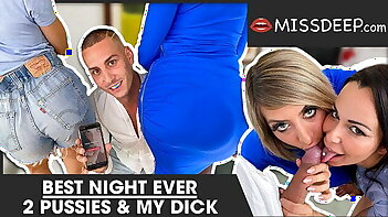 TRANSFORMED: these 2 lesbians want DICK now ! MISSDEEP.com