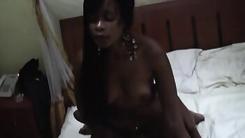 I'm a lesbian black girl with more prominent bust. My ebony